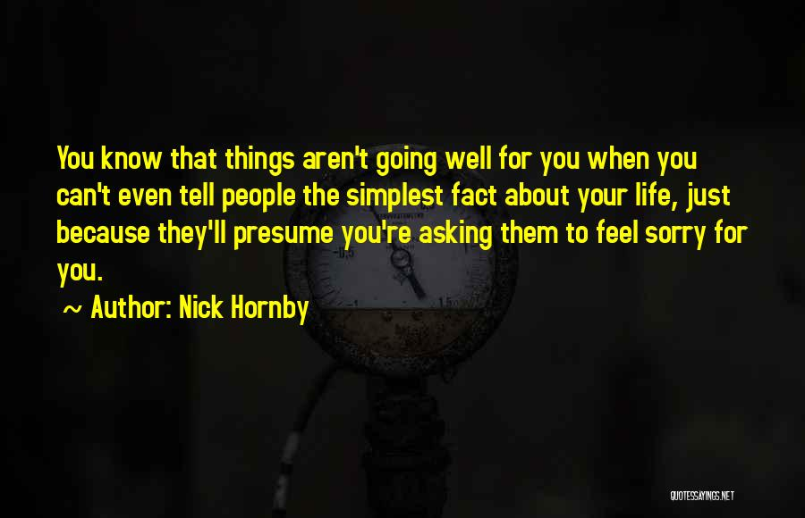 Nick Hornby Quotes 863725