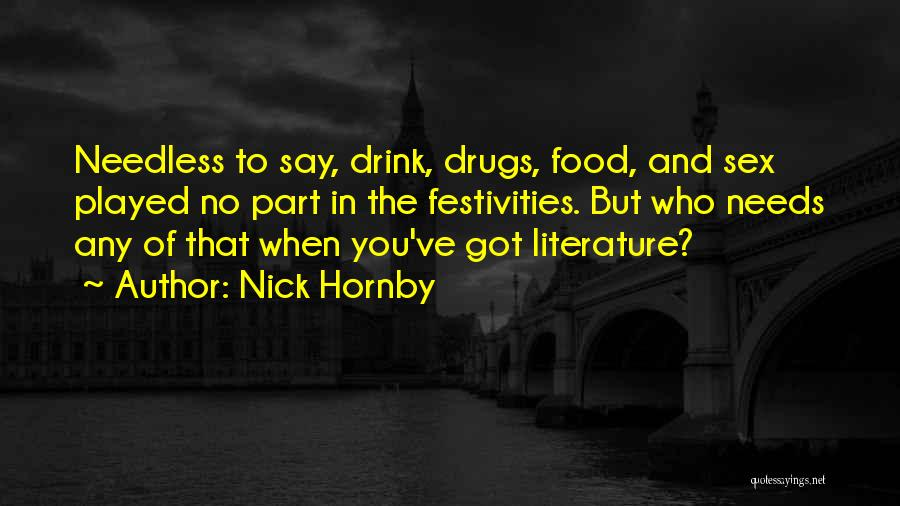 Nick Hornby Quotes 889349