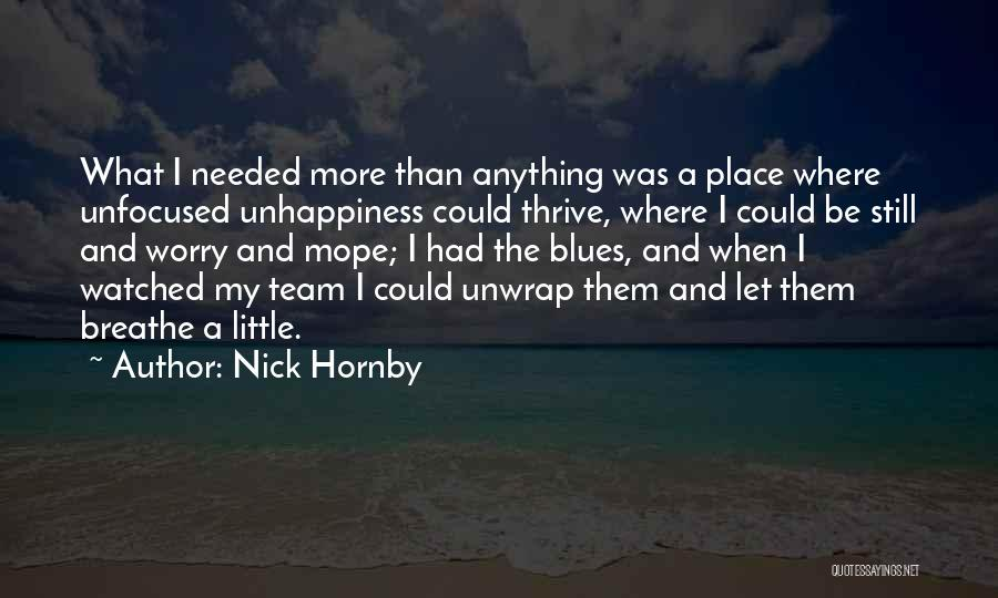 Nick Hornby Quotes 965492