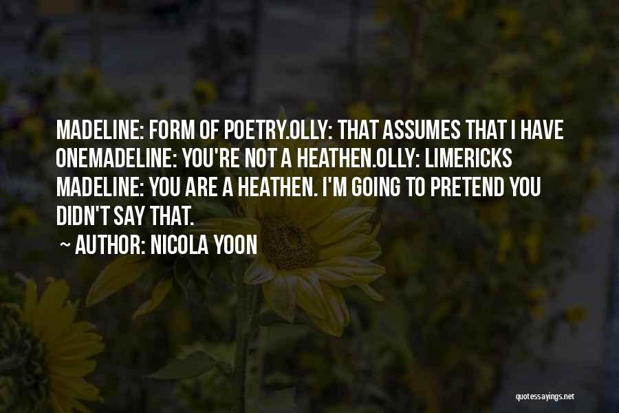 Nicola Yoon Quotes 1126825