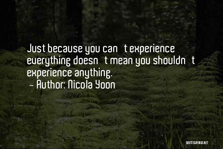Nicola Yoon Quotes 1264169