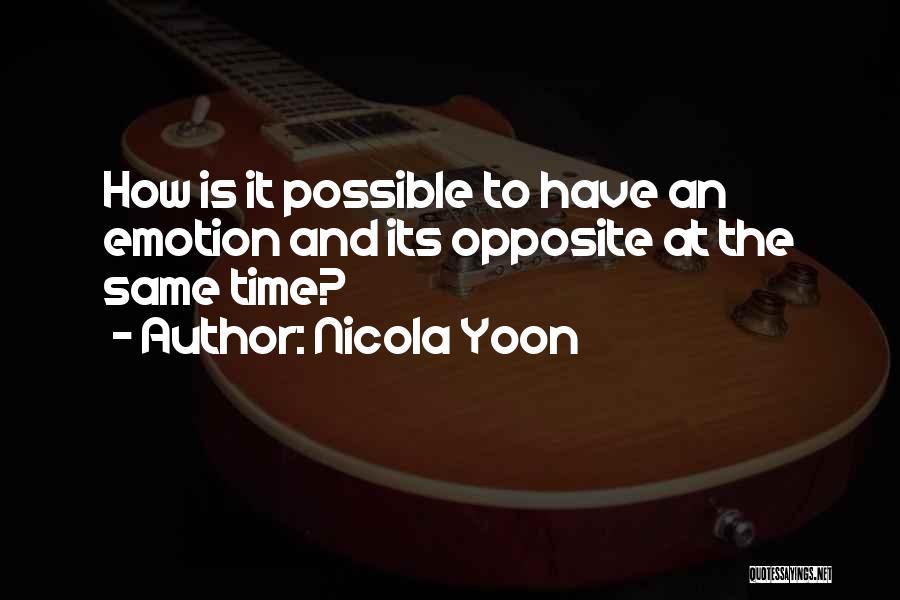 Nicola Yoon Quotes 1784289