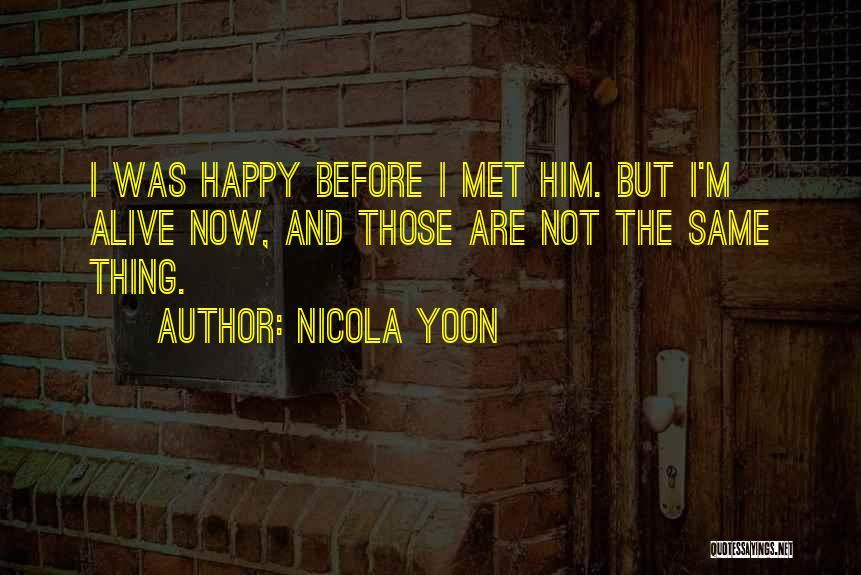 Nicola Yoon Quotes 275504