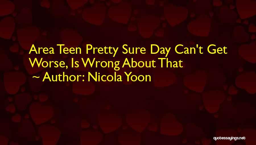 Nicola Yoon Quotes 295064
