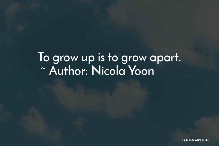 Nicola Yoon Quotes 334071