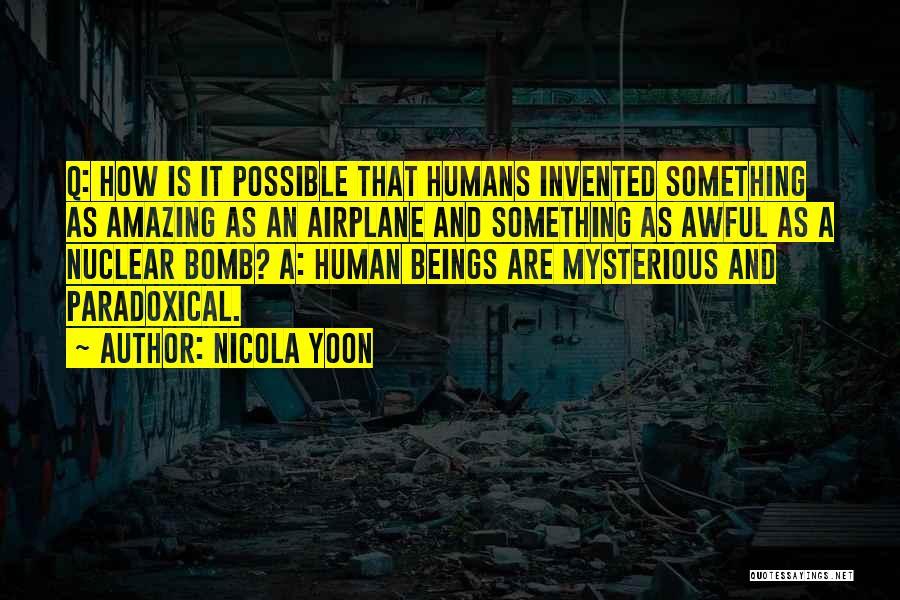Nicola Yoon Quotes 870190