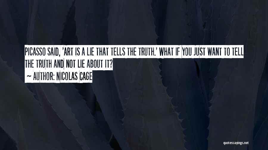 Nicolas Cage Quotes 1382185