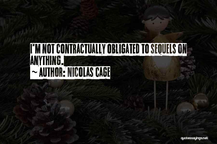 Nicolas Cage Quotes 1834419