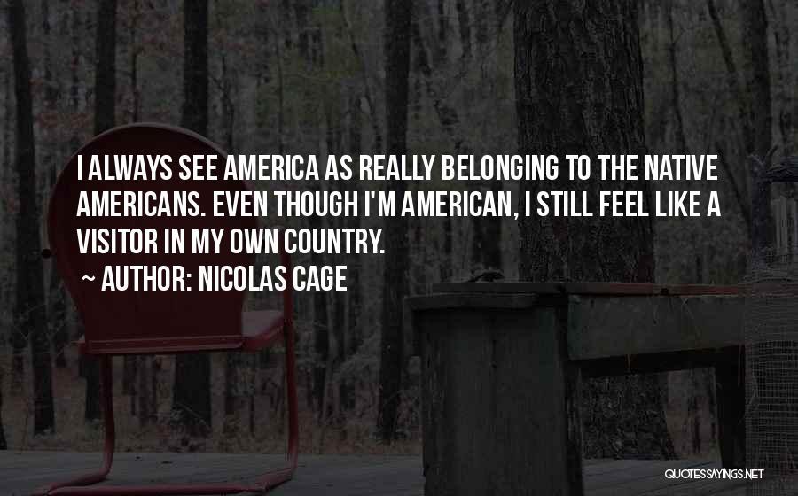 Nicolas Cage Quotes 1838101