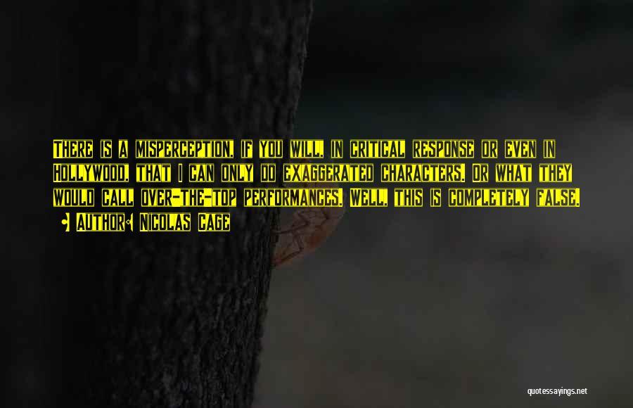 Nicolas Cage Quotes 1885262