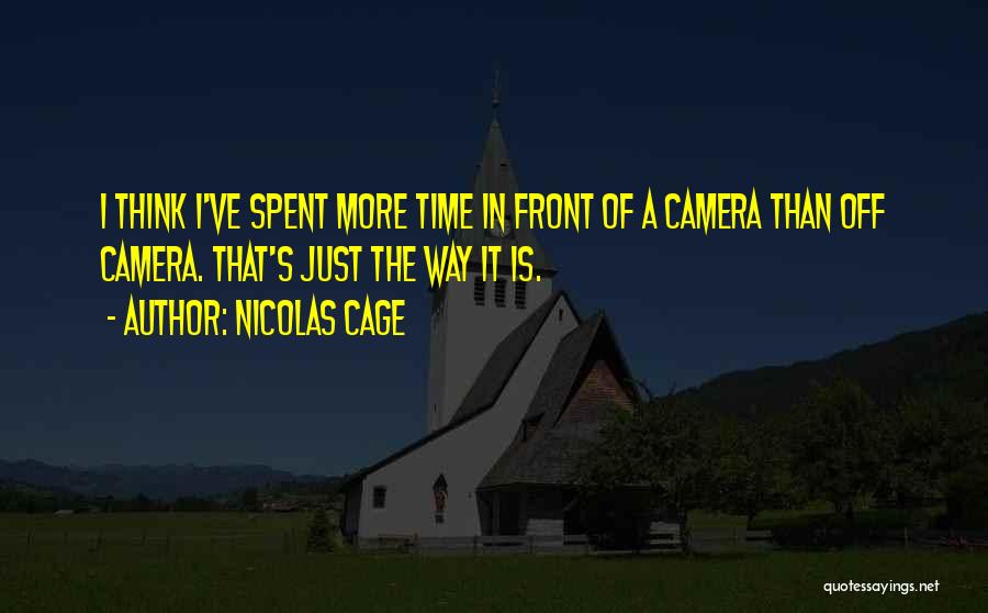 Nicolas Cage Quotes 1966250