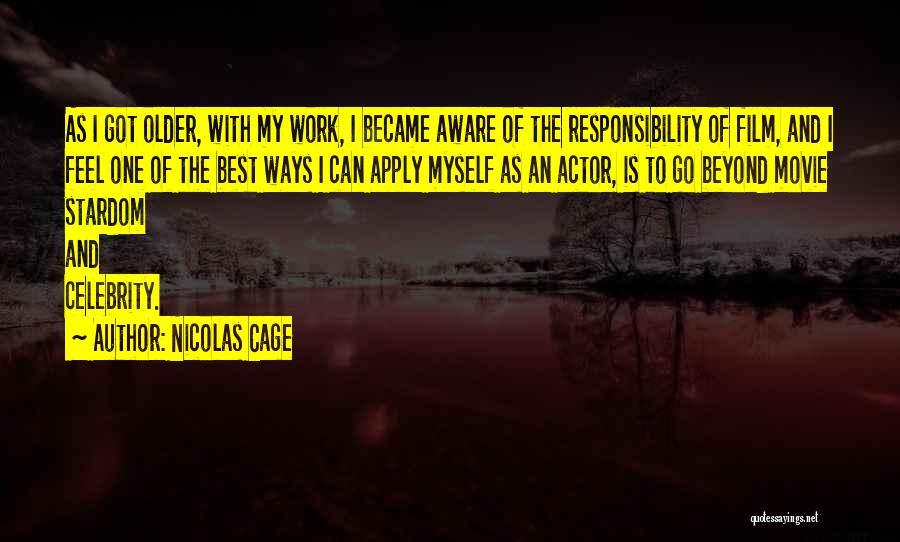 Nicolas Cage Quotes 2137522