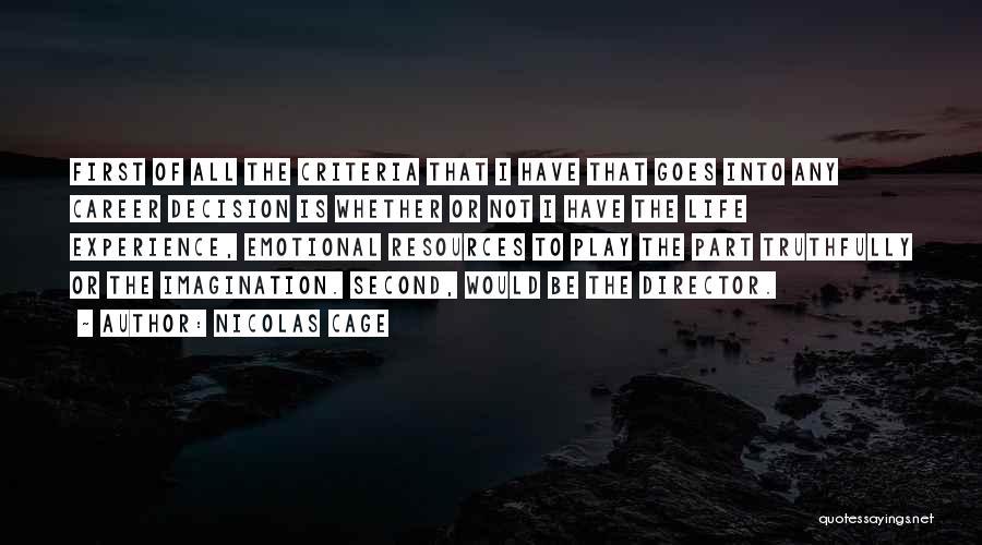Nicolas Cage Quotes 458695