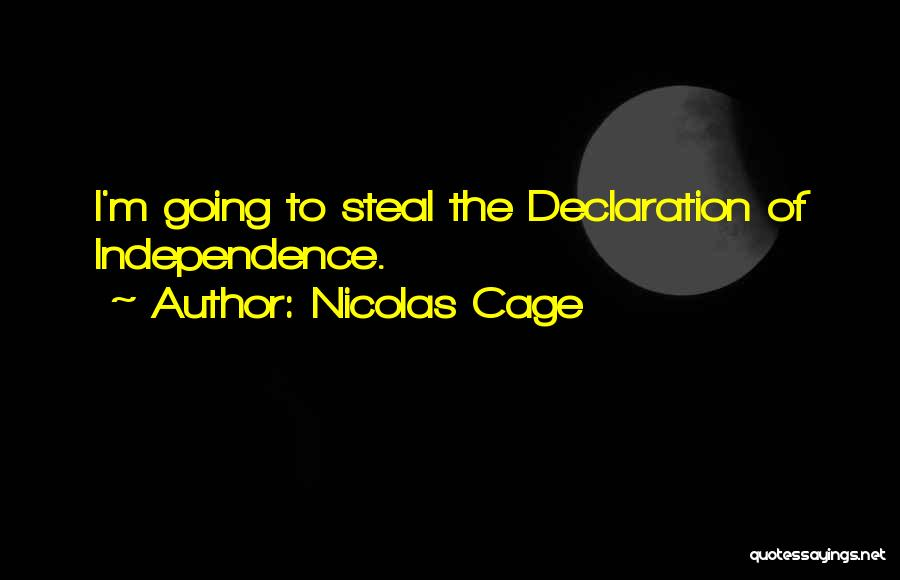 Nicolas Cage Quotes 852732