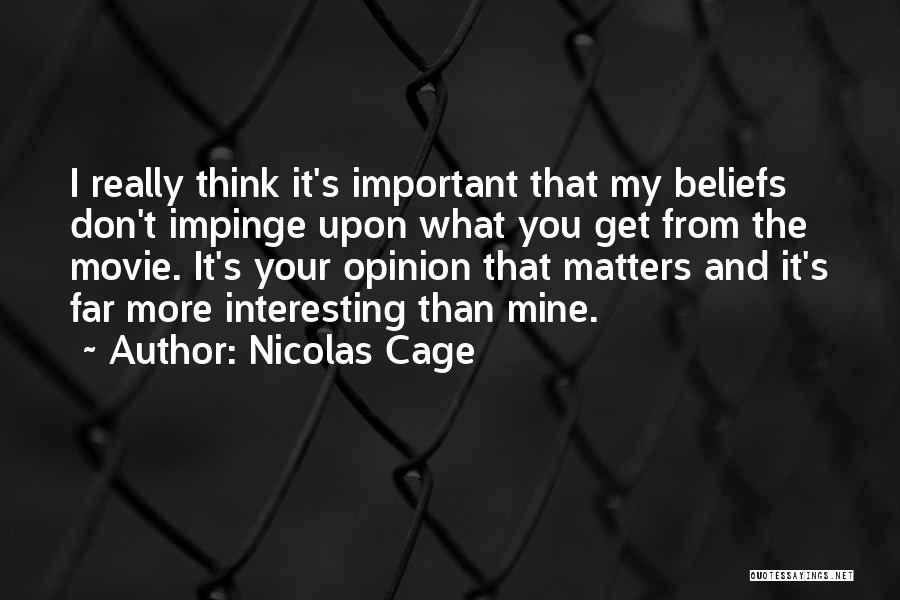 Nicolas Cage Quotes 914455