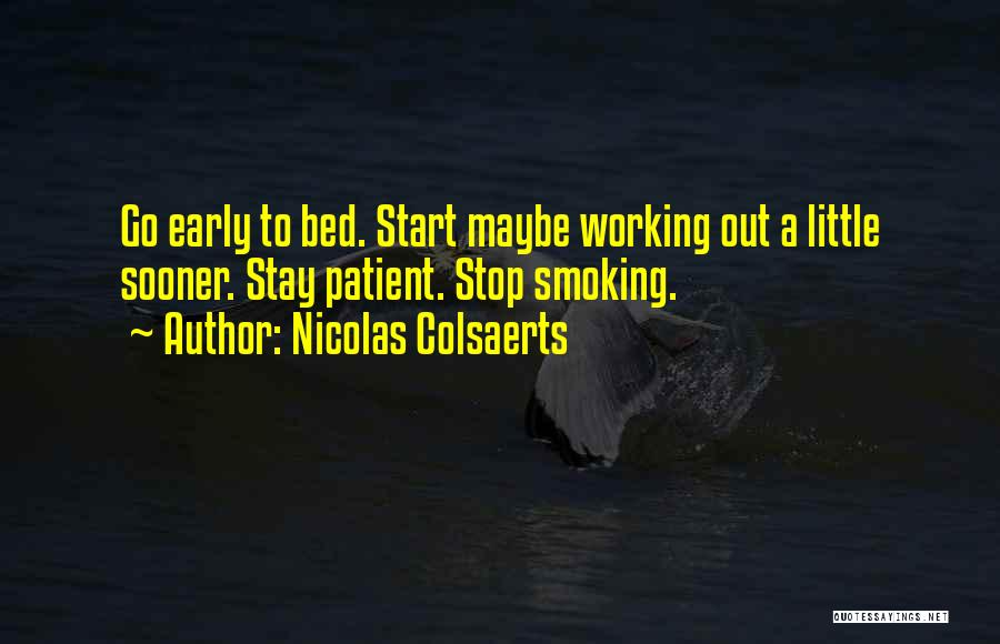 Nicolas Colsaerts Quotes 1862980