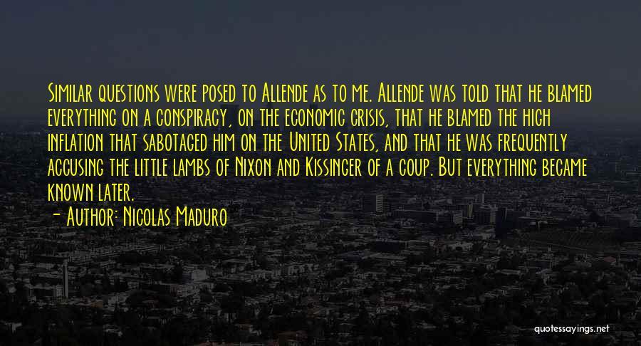 Nicolas Maduro Quotes 154699
