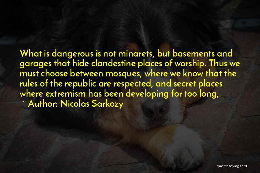 Nicolas Sarkozy Quotes 1580475