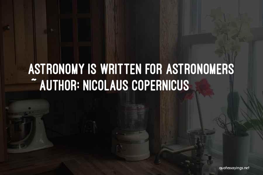 Nicolaus Copernicus Quotes 104816