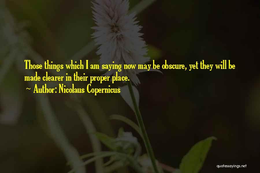 Nicolaus Copernicus Quotes 825683
