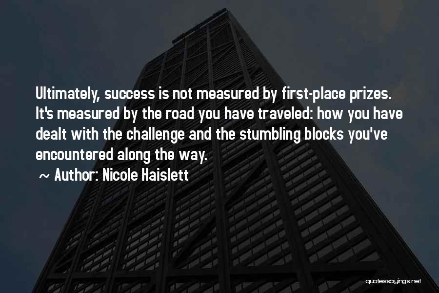Nicole Haislett Quotes 1030143