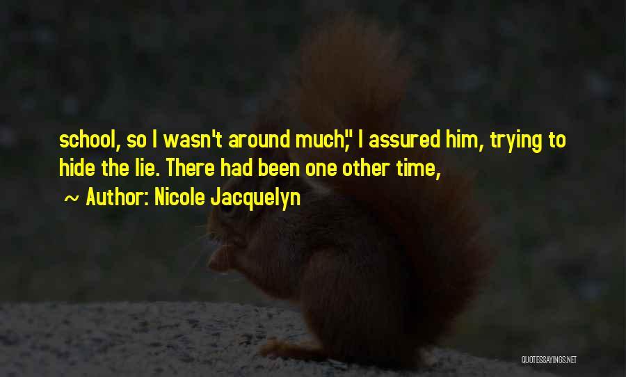 Nicole Jacquelyn Quotes 445210