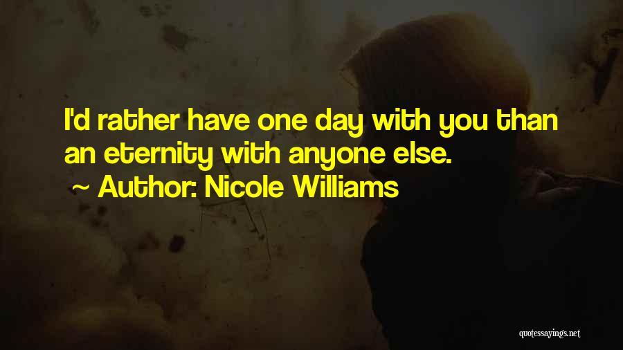 Nicole Williams Quotes 1035060