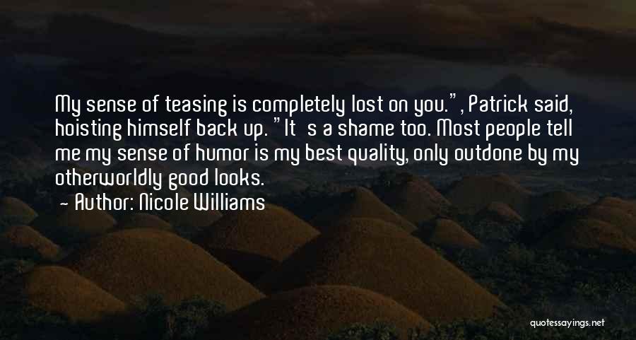 Nicole Williams Quotes 161349