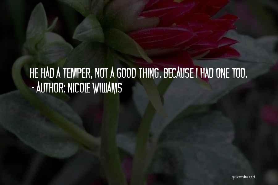 Nicole Williams Quotes 1727703