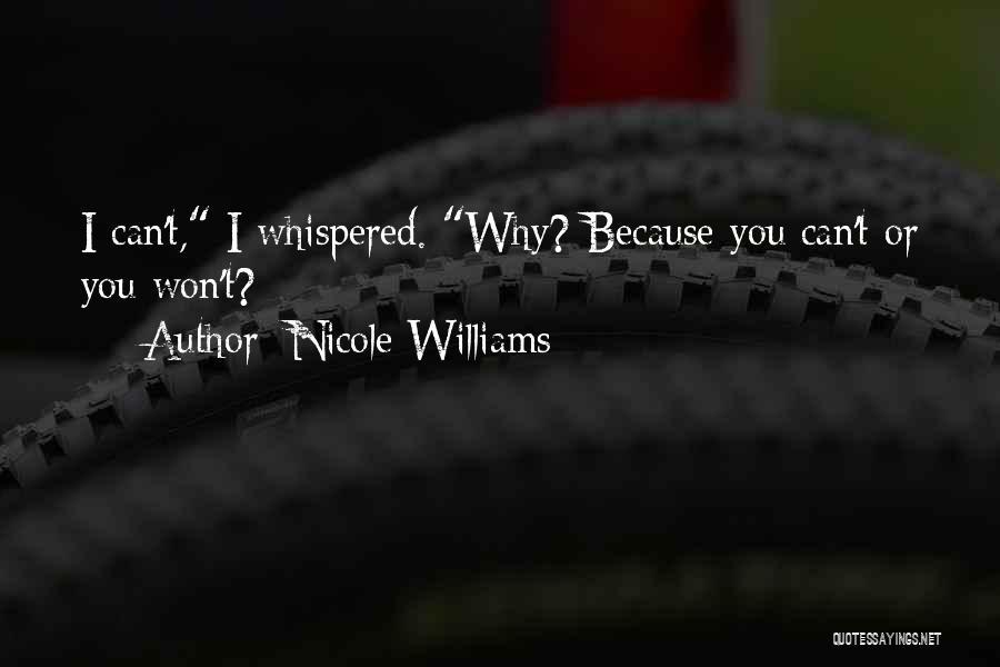 Nicole Williams Quotes 176993