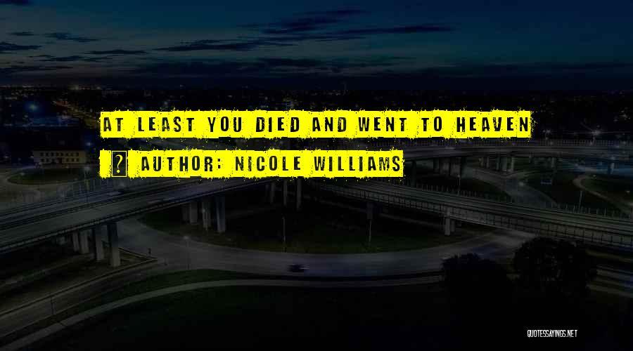 Nicole Williams Quotes 2016510