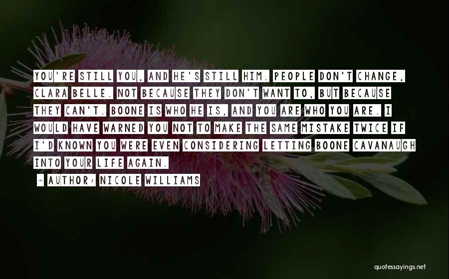 Nicole Williams Quotes 298177