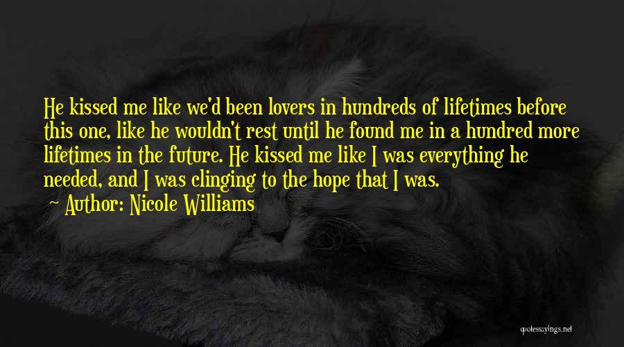 Nicole Williams Quotes 358528