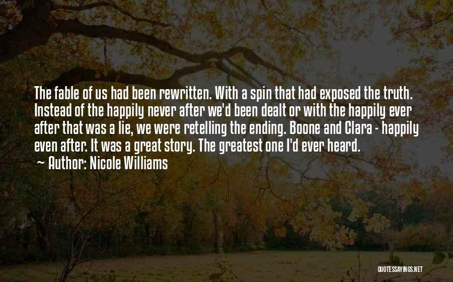 Nicole Williams Quotes 480927