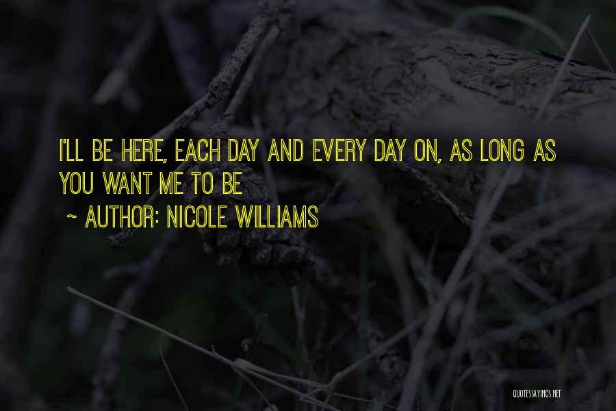 Nicole Williams Quotes 734128