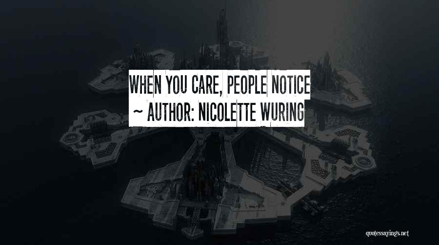 Nicolette Wuring Quotes 1678813