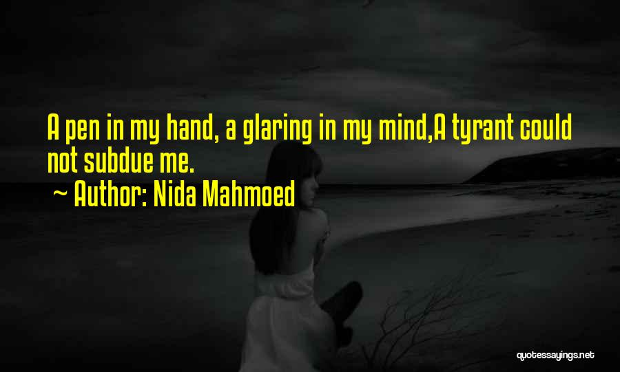 Nida Mahmoed Quotes 714056