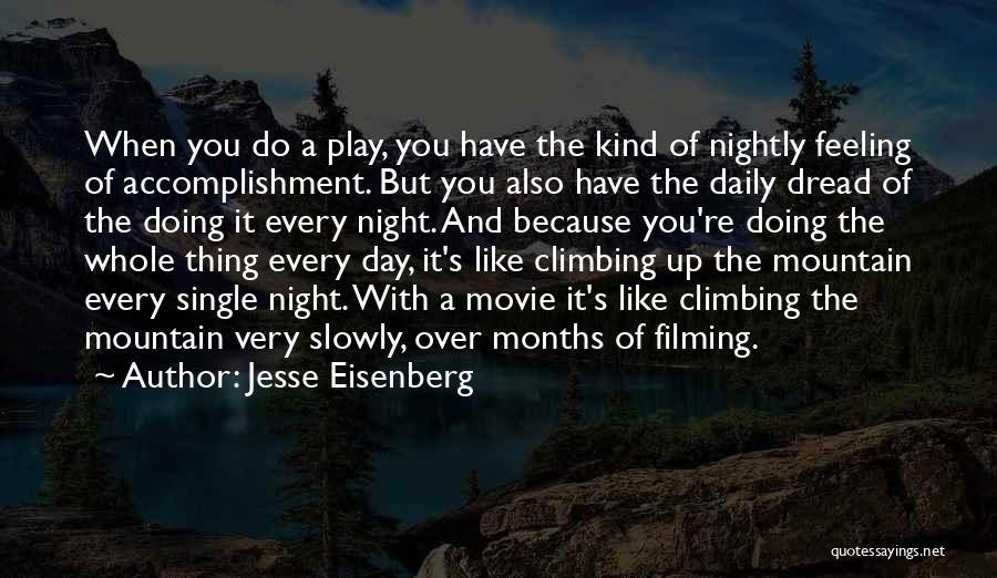 Night And Day Movie Quotes By Jesse Eisenberg