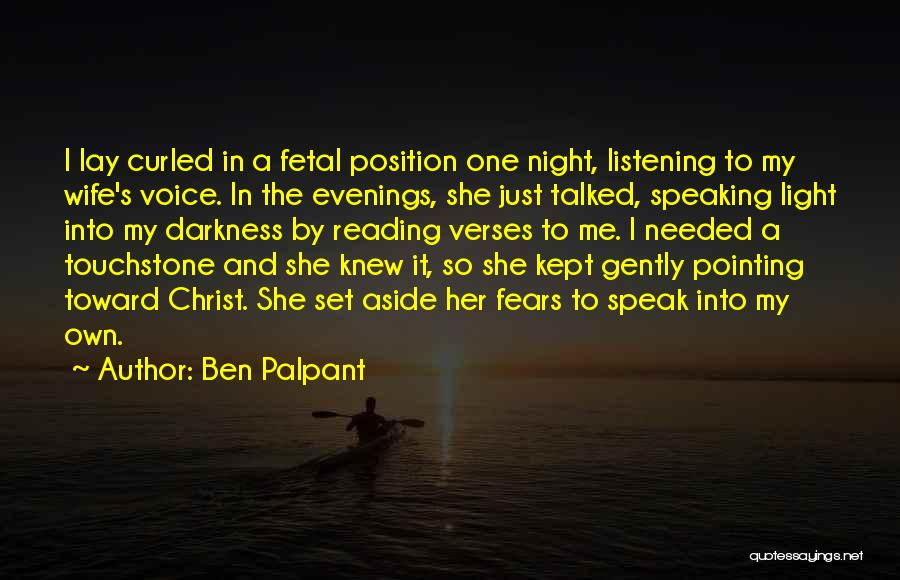 Night Darkness Quotes By Ben Palpant