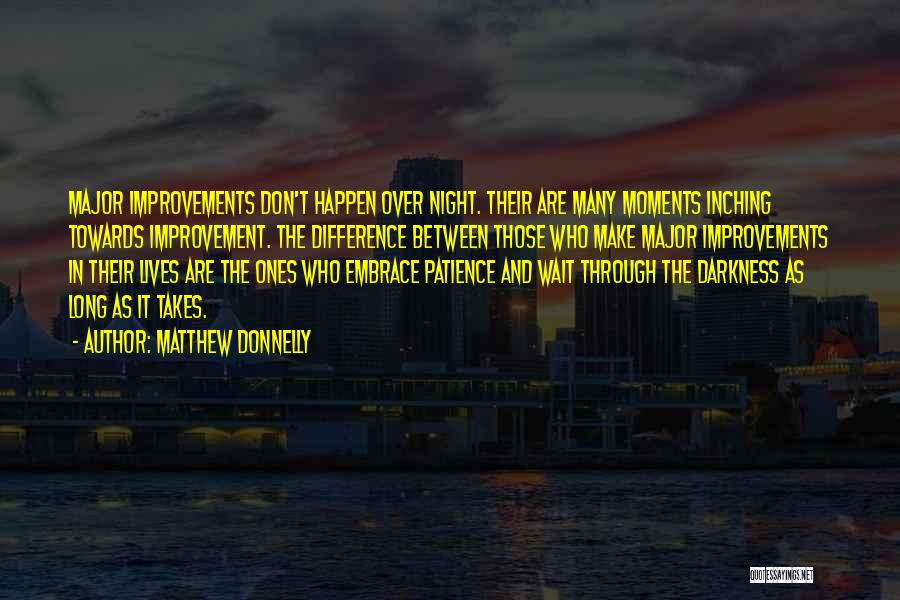 Night Darkness Quotes By Matthew Donnelly