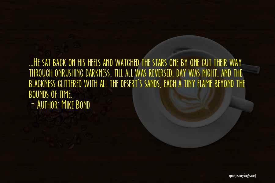 Night Darkness Quotes By Mike Bond