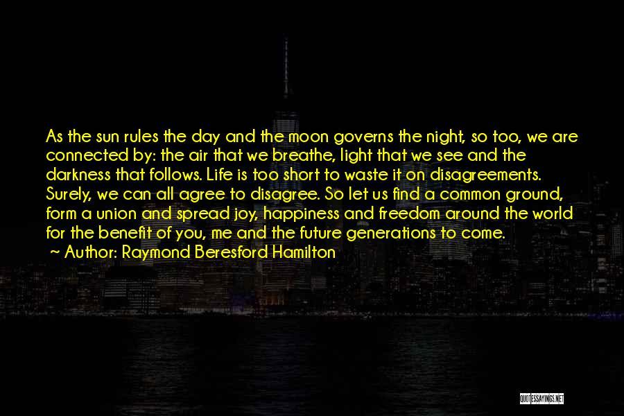 Night Darkness Quotes By Raymond Beresford Hamilton