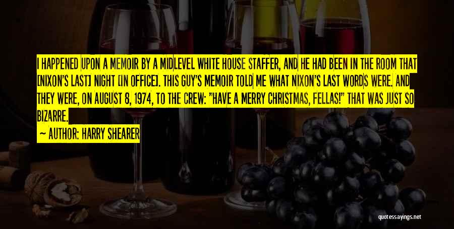 Night Memoir Quotes By Harry Shearer