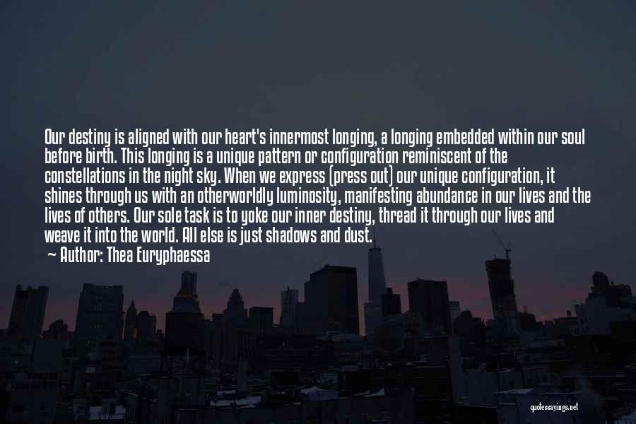 Night Memoir Quotes By Thea Euryphaessa