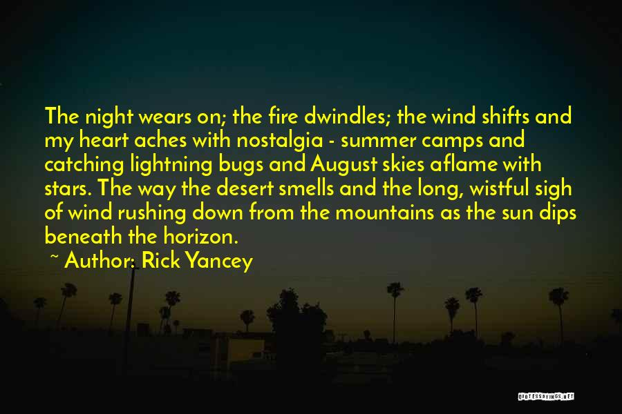 Night Shifts Quotes By Rick Yancey