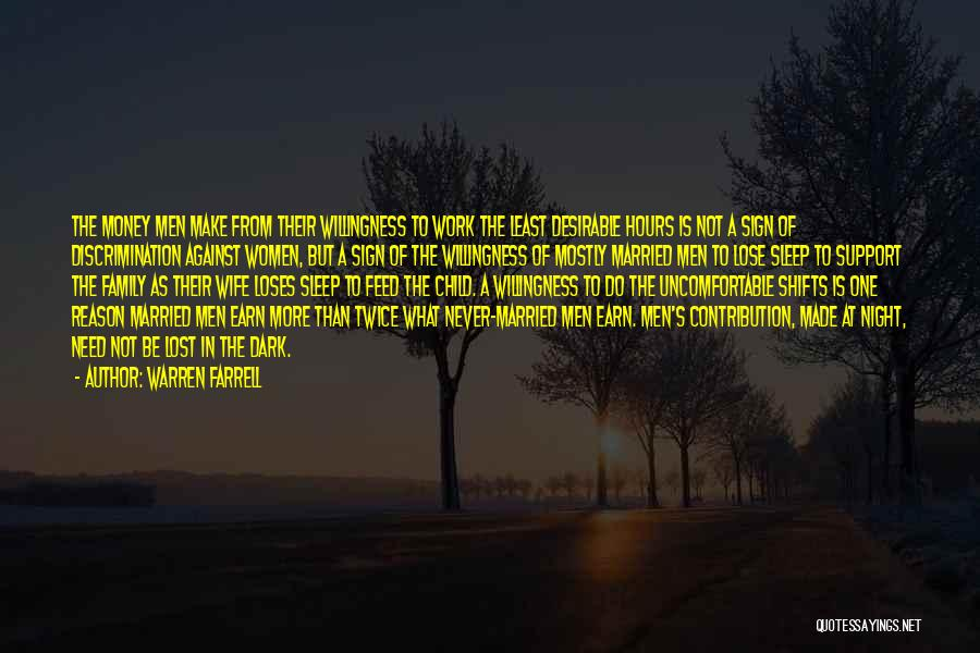 Night Shifts Quotes By Warren Farrell