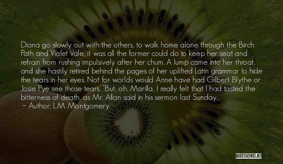 Night Vale Quotes By L.M. Montgomery