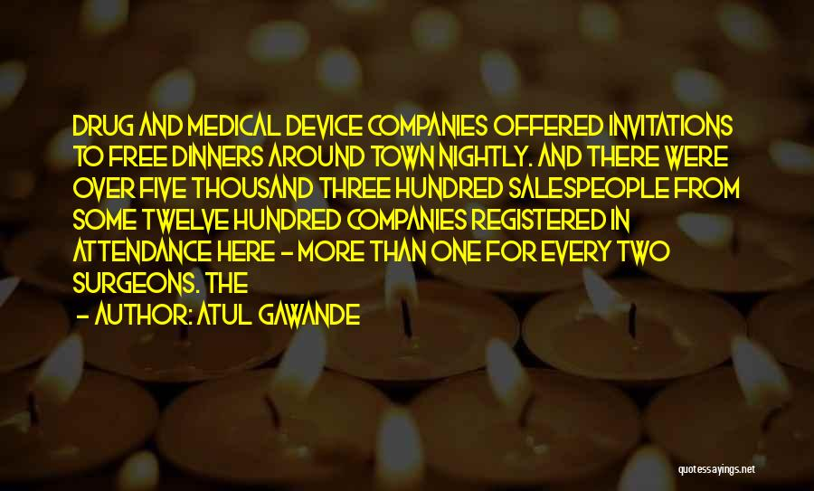 Nightly Quotes By Atul Gawande