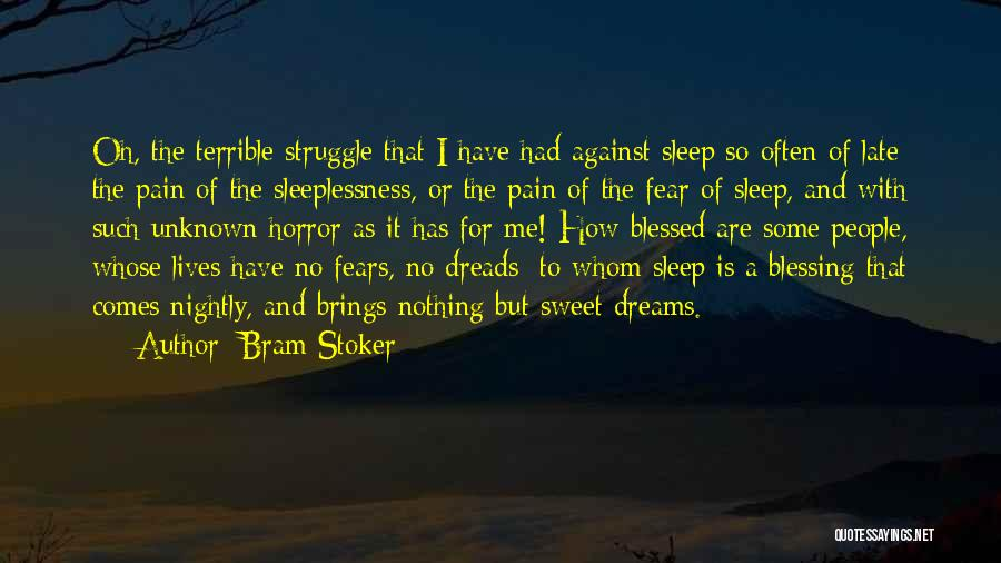 Nightly Quotes By Bram Stoker