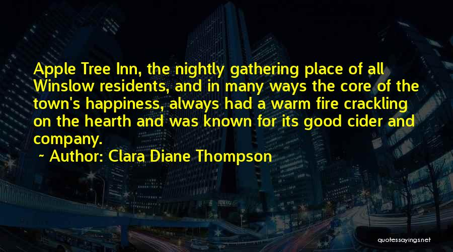 Nightly Quotes By Clara Diane Thompson